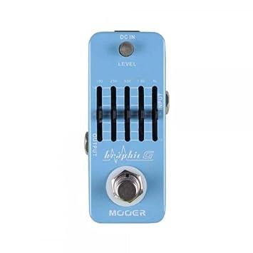 Mooer Graphic G - Ecualizador para guitarra eléctrica: Amazon.es: Instrumentos musicales