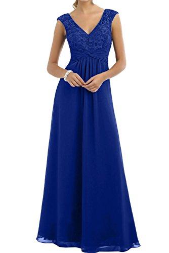 mujer azul real Vestido trapecio Topkleider para qxYwtBI0