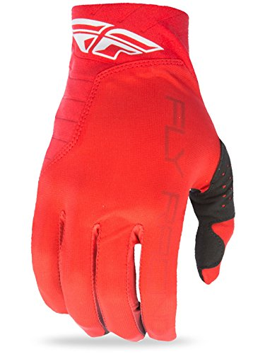 Thor Racing Gloves - Fly Racing Pro Lite Youth Gloves , Distinct Name: Red/Black, Primary Color: Red, Size: Lg, Size Modifier: 6, Gender: Boys, Size Segment: Youth 366-81206