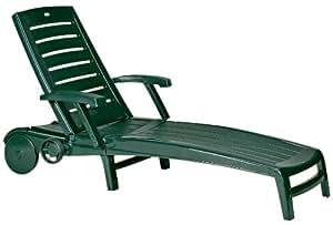 Jardin 152660 - Tumbona, color verde