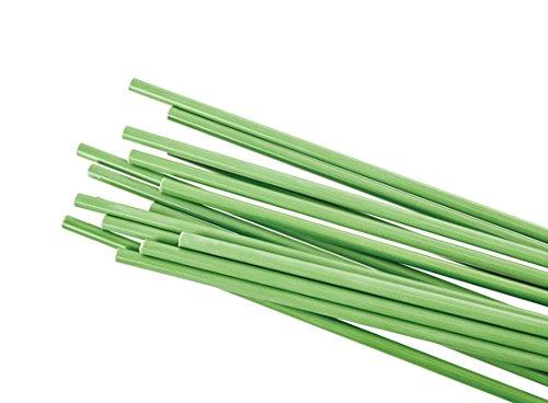 Graf Licht Raumteiler Sticks grün Höhe: 210 cm Basis: Holz hell 60 x 30 cm mit LED Beleuchtung warmweiß