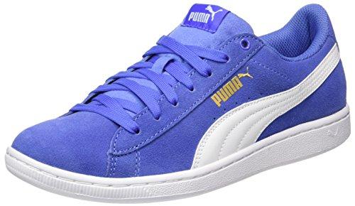 Sneaker Puma baja Donna Basse Blue white Vikky Blu 5PxqFrwUP