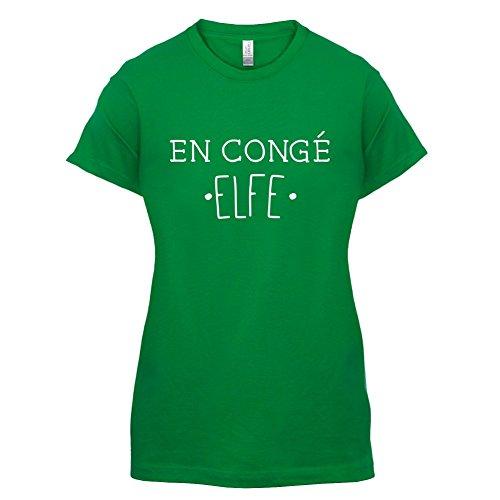 En congé fantasy elfe - Femme T-Shirt - Vert - XL