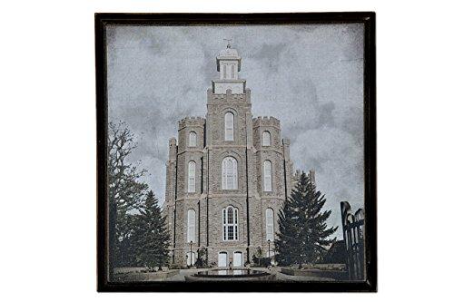 LDS (Mormon) Temple Print (Print Only - 10.5 x 10.5, - Temple Lds Logan