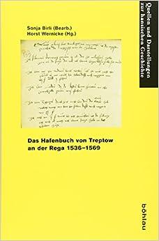 Book Das Hafenbuch von Treptow an der Rega 1536-1569