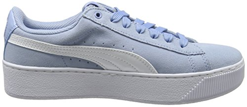Vikky Puma White Basses Baskets Platform cerulean Bleu 17 Femme puma dwUwxvFq