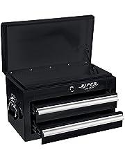 Viper Tool Storage V218MCBL 18-Inch 18G Steel Mini Tool Chest, 2-Drawer