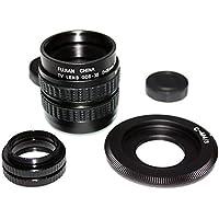 Mondpalast ® CCTV cine lente Obiettivi 35mm F/1.7 + C-M4/3 adattatore per Olympus Panasonic
