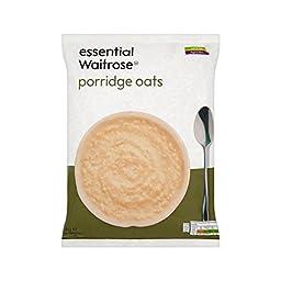 Porridge Oats essential Waitrose 1kg - Pack of 6