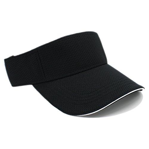 (MOISTURE MANAGEMENT OUT DOOR SPORTS SUN VISORS, Quick Dry Hat (BLACK))