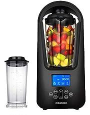 OMORC Blender Sous Vide 800W Mixeur à Smoothies Blender Mélangeur Vide Fruits et Legumes Matériau Tritan sans BPA avec 6 Lames en Acier Inoxydable