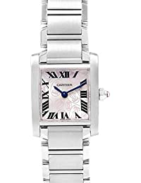Tank Francaise Quartz Female Watch W51031Q3 (Certified Pre-Owned)