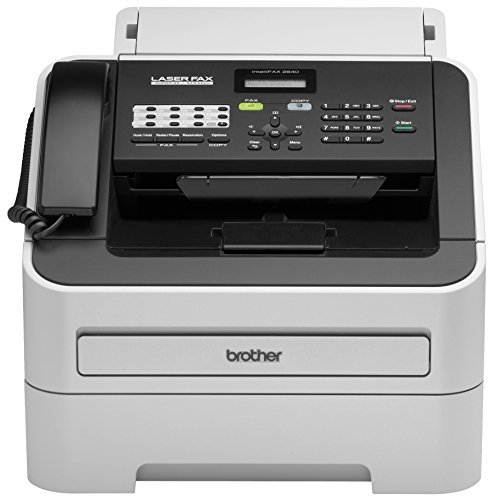 Brother Refurbished RFAX2840 High Speed Mono Laser Fax Machine (Certified Refurbished) ()