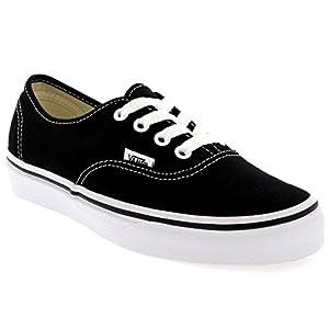 Vans Unisex Authentic Skate Shoe Black 9 D(M) US