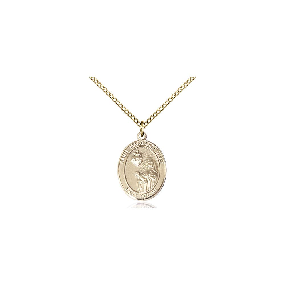 Margaret Mary Alacoque Pendant DiamondJewelryNY 14kt Gold Filled St