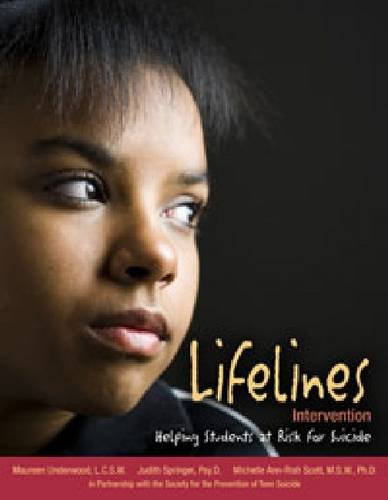 Download Lifelines Intervention: Helping Students at Risk for Suicide pdf