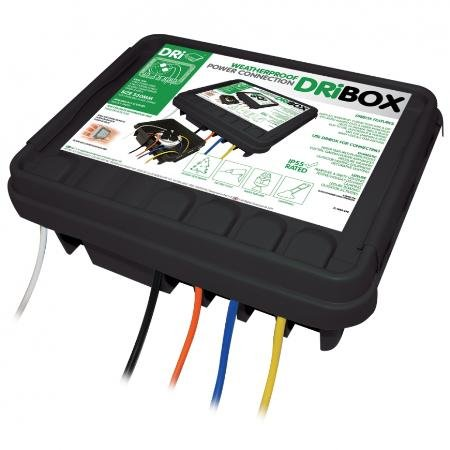 SockitBoX Dri-box 330 Outdoor Waterproof/Weatherproof Box- Black by SockitBoX (Image #1)