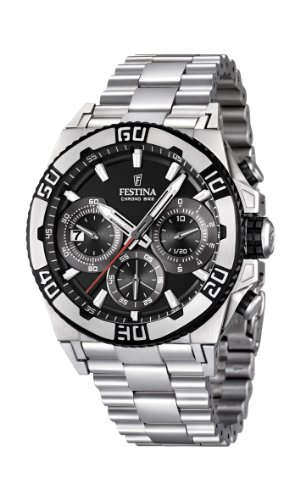 Men's Watch Festina Chrono Bike F16658/5 Tour de France 2 Years Warranty