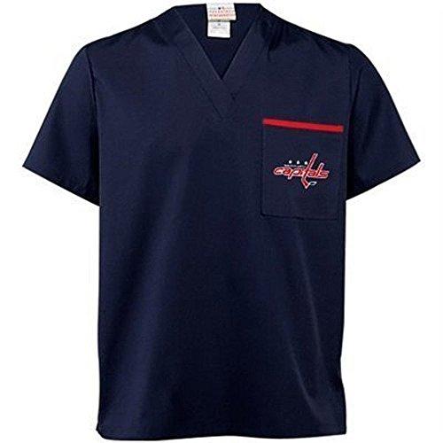 Washington Capitals Unisex Scrub Shirt Size - Mix Blue Washington