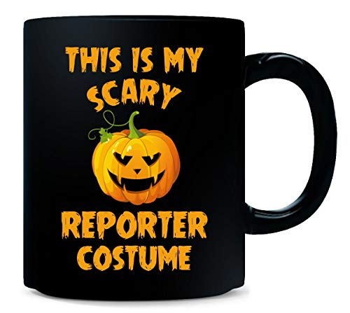 This Is My Scary Reporter Costume Halloween Gift - Mug ()