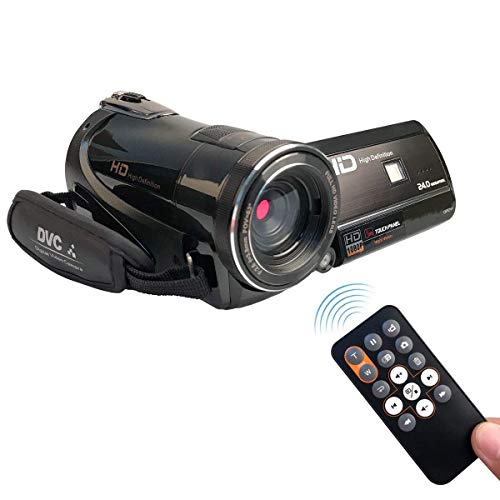 KINGEAR HDV-D395 1080P 24MP WiFi Video Recording Night Vision Digital Video Camcorders (Black)