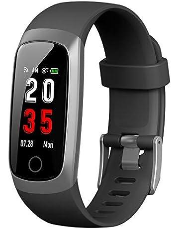 5eba24363 Trswyop Fitness Trackers [Latest version] Smart Watch Activity Tracker Heart  Rate Monitor Waterproof IP67