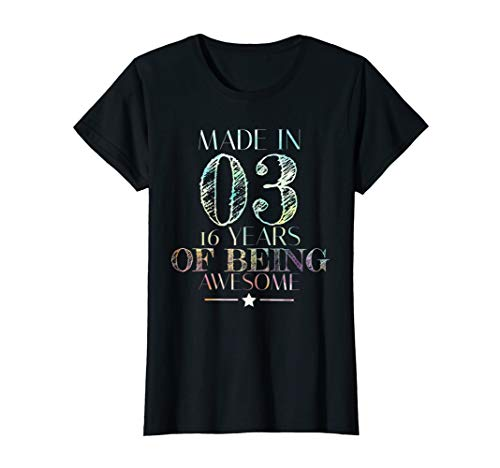 Sweet 16 Birthday Party T-Shirt | Sweet 16th Shirt Gift Idea -