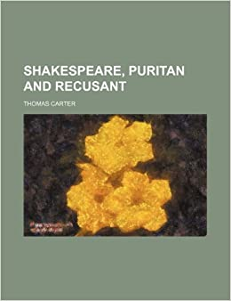 Book Shakespeare, Puritan and Recusant