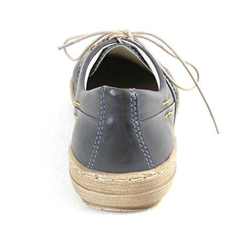 Damen grau 850300 Manitu Sandalen Pantoletten 9 Grau A8F1dUwq
