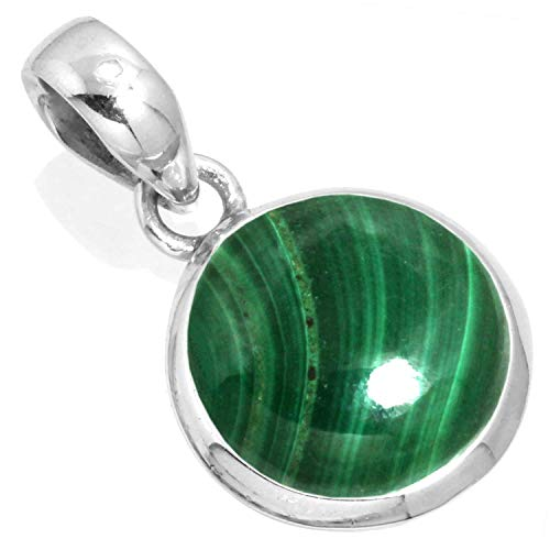 (Natural Malachite Women Jewelry 925 Sterling Silver)