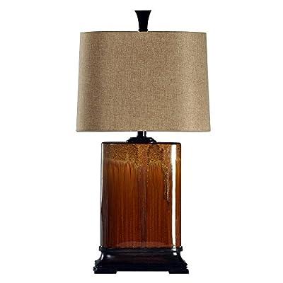StyleCraft Cinnaban Ceramic Table Lamp
