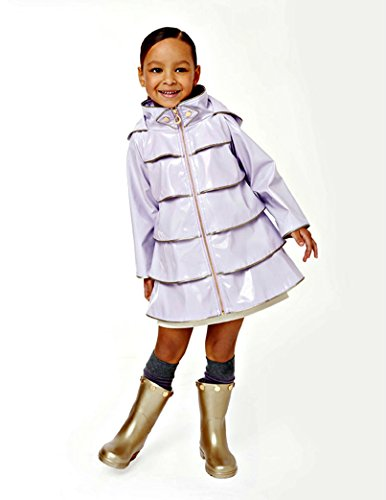 Oil & Water Little and Big Girls Opera Coat (8, Thistle) by Oil and Water