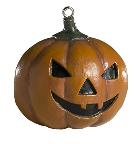 Jack-O-Lantern Ornament - Scary Prop and Decoration for