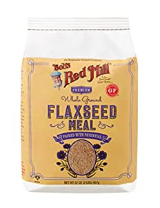 Brown Flaxseed Meal, 32 Ounce (Packaging May Vary)
