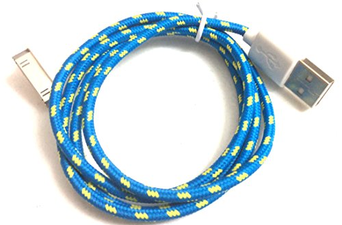 USB to 30pin Data Sync Cable for Apple (Blue) - 8