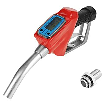 Medidor de flujo digital Gasolina de combustible Diesel Gasolina Aceite Dispensador De Boquilla Pistola De Entrega