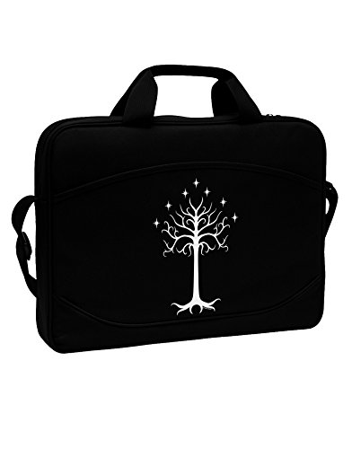 TooLoud The Royal White Tree 15'' Dark Laptop / Tablet Case Bag by TooLoud