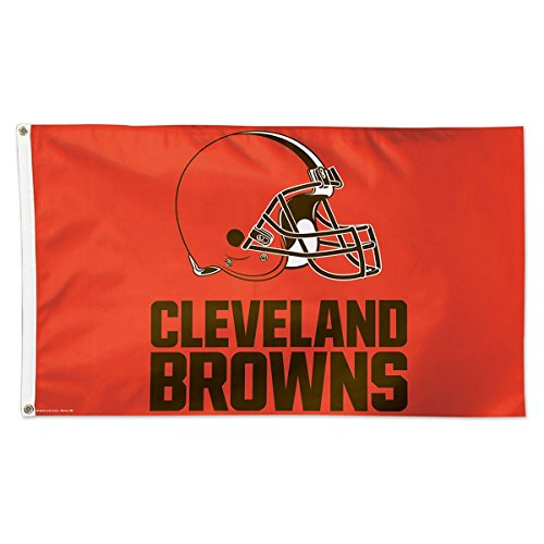 nd Browns 01805125 Deluxe Flag, 3' x 5' ()