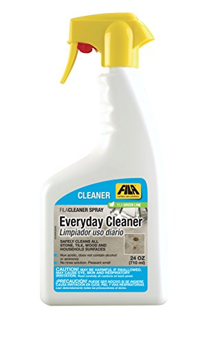FILA All Purpose Cleaner Spray 24 OZ, Porcelain Tile Cleaner, Shower Spray Cleaner Daily, Granite Countertops Cleaner, Ideal for Bathroom, Kitchen and Office Surfaces, Glass and Mirror, ()