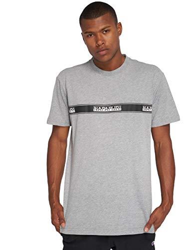 Shirt Homme T Gris Napapijri N0YHUD002 wv7SnqE