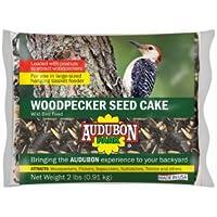 Global Harvest Foods 11931 Woodpecker Seed Cake, 2-Lbs. - Quantity 4