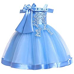 Formal Ruffles Flower Girl Dress