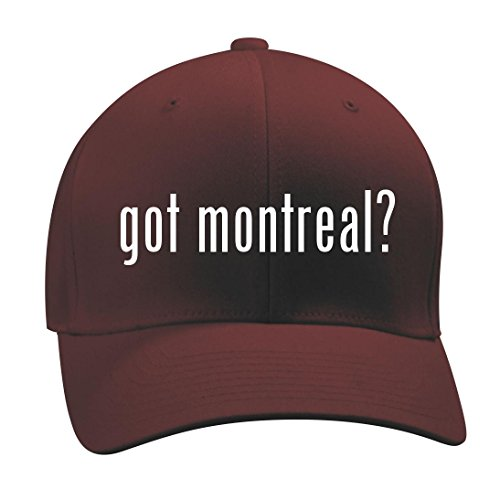 got montreal? - A Nice Men's Adult Baseball Hat Cap, Maroon, Large/X-Large