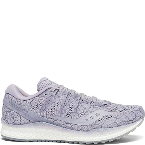 (Saucony Women's Freedom ISO 2 Running Shoe, Lavender Quakemustard, 10.5 M US)