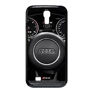 2014 AUDI A6 NEGRO COUPE para funda Samsung Galaxy S4 9500 funda caja del teléfono celular cubre negro