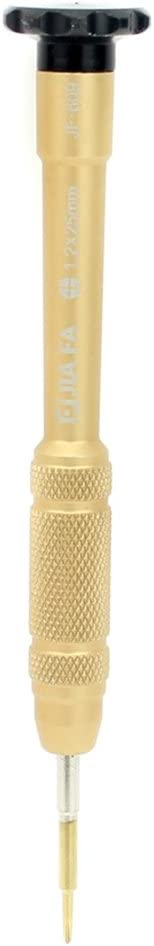 Color : Gold Repair Kits JF-609-1.2 Cross 1.2 Mobile Phone Repair Tool Screwdriver Gold