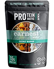 Earnest Eats PRO: Protein + Probiotic Superfood Oatmeal, Gluten Free, Apple Crush