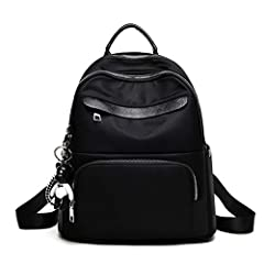 Women Backpacks with Zipper Oxford School Bags for Teenagers Girls Small Backpacks Female Rucksack Bag  【Features】: Item type:Backpacks Main material:Oxford Color:As shown in the figure Closure Type:Zipper 【Specifications】: Size:31*14*33cm  ...