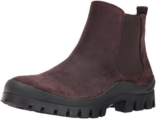 CK Jeans Men's Hugo Oiled Suede Boot, Mocha, 9.5 M US ()