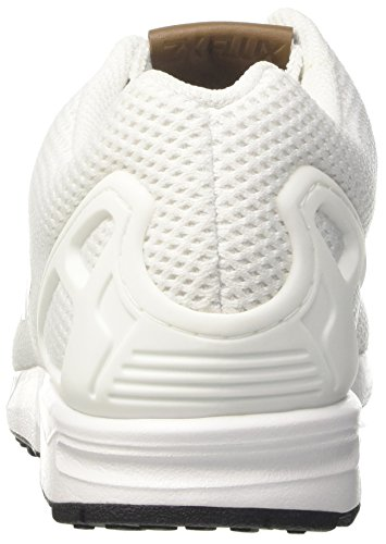 Bianco White White Footwear Sneaker ZX Footwear adidas Flux Uomo Footwear White qfIwU
